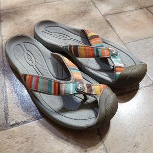 Keen Waimea Flip Flops Sandals Size 10